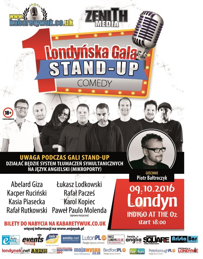 plakat stand-up
